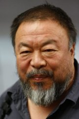 Ai Weiwei plans on coming to Australia in December.