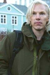 Benedict Cumberbatch in <i>The Fifth Estate</i>.
