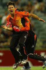 Revitalised … Brad Hogg is grabbing his opportunity with both hands.