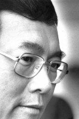 Victim ... heart transplant surgeon Dr Victor Chang.