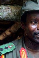 On the run, for now ... the LRA's leader, Joseph Kony.