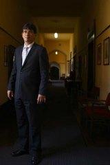 Rector of St Johns College at Sydney University, Michael Bongers.