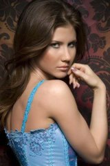 From Russia with love ... the alleged spy Anna Chapman in one of her Facebook photos.
