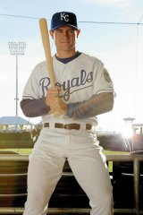 The big time … Justin Huber debuted for the Kansas City Royals in 2007.