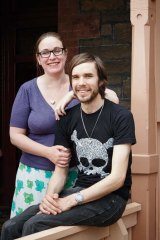 Facing it together … Cassie and John Flanagan Willanski.