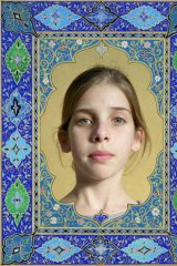 Complicated lives: One of Wendy Ewald's works depicts Emma, who lives in the Kibbutz Kfar Giladi in Israel.