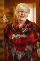 Happy days: Lynn Ansell.