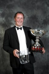 Winner ... Hunter Valley winemaker of the year Nick Paterson.