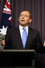 Ban on tobacco money ordered during the election: Tony Abbott.