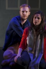 Sam O'Sullivan and Emma Palmer in Constellations.