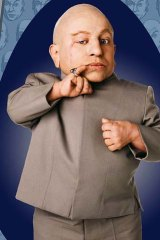 Verne Troyer as Mini-Me.