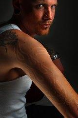 Timb Wilton from Third Eye Tattoo Studio in Melbourne.