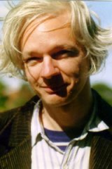 Julian Assange, who is behind the website WikiLeaks.