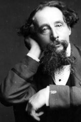 Great Expectations: English writer Charles Dickens.