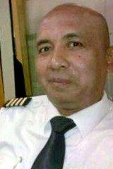 Investigating a mobile phone call: Zaharie Ahmad Shah, senior pilot on the MH370 flight.