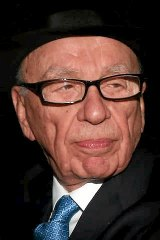 Disapproval ... Rupert Murdoch's comment sparked a Twitter backlash.