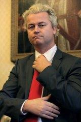 """Geert Wilders ... proposed """"scum villages""""."""