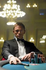 Daniel Craig in <i>Casino Royale</i>.