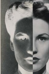 <i>Positive-negative face</i> by Rob Hillier, 1947.
