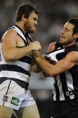 Second Preliminary Final. Geelong monstered Collingwood in their 2009 secoond preliminary final.