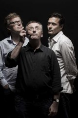 Three's company: Cordell Jigsaw Zapruder's Nick Murray, Andrew Denton and Michael Cordell.