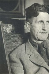 Author George Orwell.