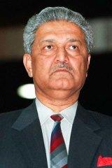 Abdul Qadeer Khan ...  built a nuclear black market.