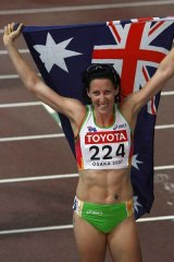 The great escape ... Jana Rawlinson reportedly wants to run for Great Britain.