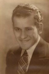 Morry Isenberg as a young man.