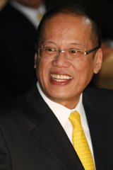 """This is to clarify which of the areas we are claiming"" ... Philippines President Benigno Aquino."
