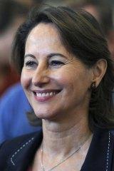 Bad blood ... Mr Hollande's former partner Segolene Royal, whose relationship with Ms Trierweiler has been fraught.