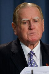 """""""My intention was to hold the Coalition to their original policy"""" ... Fred Nile."""