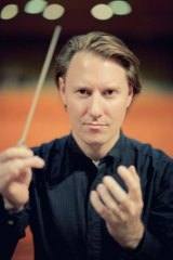 Melbourne Symphony Orchestra conductor Benjamin Northey.