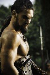 Jason Momoa as Khal Drogo in <i>Game Of Thrones</i>.
