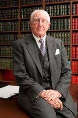Former Liberal prime minister Malcolm Fraser.