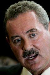 Accused: Texan billionaire Allen Stanford.