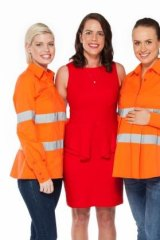 Tapping the rising number of women in the industry, Kym Clark last year started a business selling work clothing for women in mining and construction, including maternity wear.