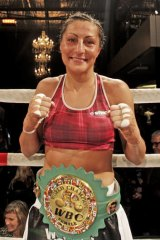 A victorious Susie Ramadan.
