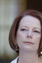 Adamant ... Julia Gillard.