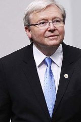 Failed coup: Kevin Rudd.