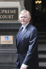 Professor Graham Burrows appeared as an expert defence witness in Arthur Freeman's murder trial.