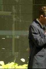 Trail of woe … Alex O'Sachy outside court in 2012.
