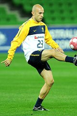 Socceroo Mark Bresciano has left his Serie A club Palermo and has regained fitness after a back injury.