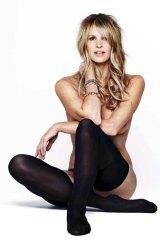 It's magic: Elle Macpherson poses for Harper's Bazaar.