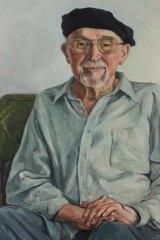 Dr George Bornemissza, portrait painted by Kristen Headlam.