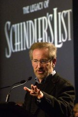 Director Steven Spielberg.