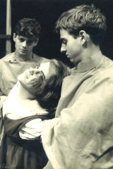 Bruce Beresford, Robyn Waterhouse and Richard Brennan in Sydney University's production of 'Tis Pity She's a Whore.