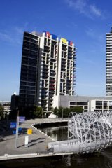 Docklands has high vacancy rates.