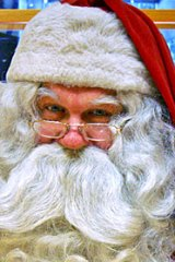 Too jolly? Santa Claus should swap the mince pies for carrot sticks, according to a health expert.