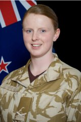 Lance Corporal Jacinda Baker, who was killed by an IED along with Corporal  Luke Tamatea, aged 31, aged 26, and Private Richard Harris, aged 21.